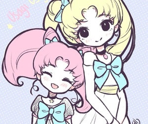 kawaii, sailor moon, and wallpaper image