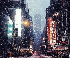 city, wallpaper, and winter image