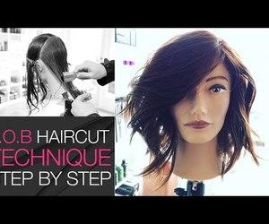 bob cut, medium hair, and fluffy hair image