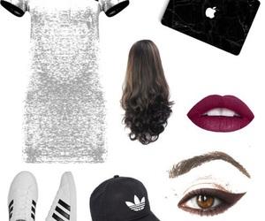beauty, clothing, and fashion image