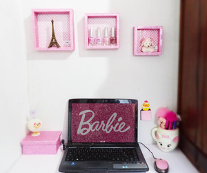barbie, office, and cute image