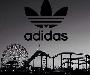adidas, black, and wallpaper image