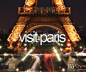 paris, before i die, and Dream image