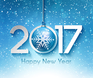 wishes, 2017, and happy new year image