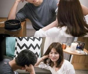 kdrama, song hye kyo, and song joong ki image