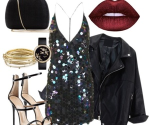fashion, glitters, and heels image