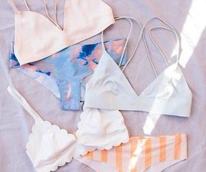 bikinis, fashion, and pale image