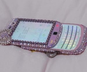 phone, pink, and kawaii image