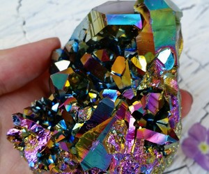 colorful, crystals, and hippie image