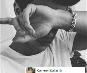 iphone, lockscreen, and cameron dallas image