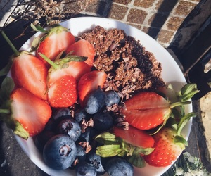 abs, breakfast, and fit image
