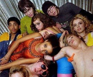 chris, michelle, and skins image