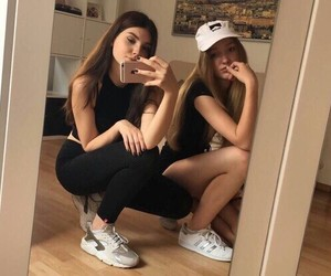 girl, goals, and style image