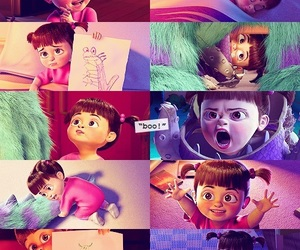 boo, monsters inc, and disney image