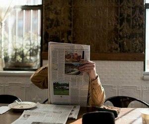 indie, vintage, and newspaper image