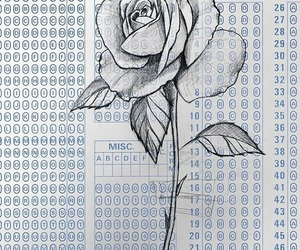 art and rose image