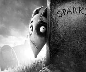 sparky, dead, and frankenweenie image
