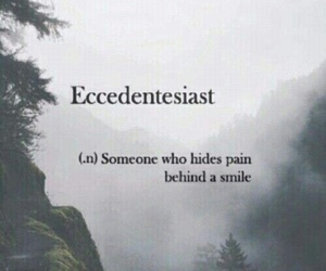quotes, sad, and smile image