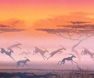 concept art, disney, and the lion king image