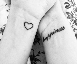 happiness, Tattoos, and small tattoos image
