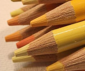 pencil and pencil+yellow image