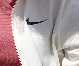 nike, pink, and white image
