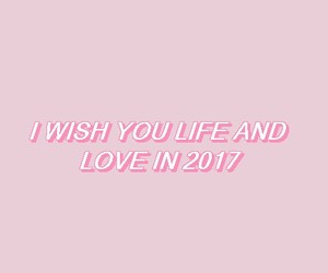 aesthetic, happy new year, and pink image