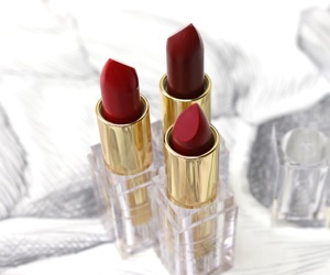 beauty, charlotte olympia, and lipstick image