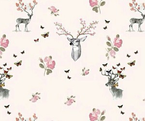 deer, wallpaper, and background image