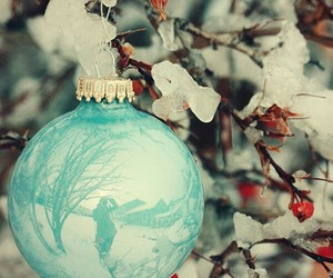vintage, christmas, and ornament image