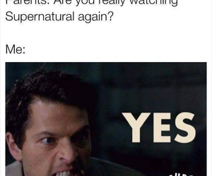 funny, me, and supernatural image