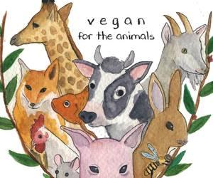 protect, vegan, and animal lover image