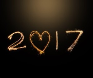 2017 and new year image