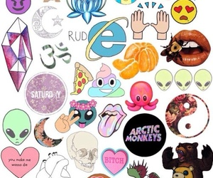 stickers, 4, and beautiful image