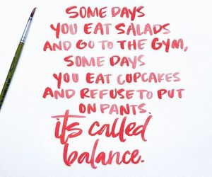 quotes, balance, and fitness image