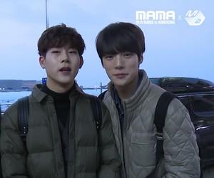 minhyuk and jooheon image