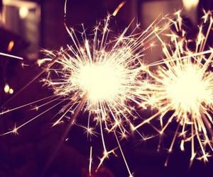 light, fireworks, and new year image