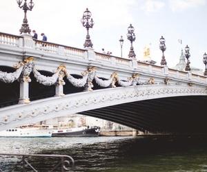 bridge, paris, and vampire image