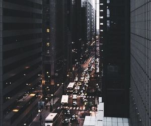 city, cars, and wallpaper image