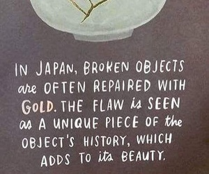 broken, gold, and inspirational image
