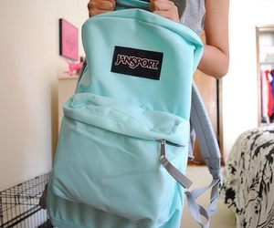 backpack, jansport, and tumblr image