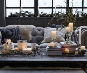 candle, style, and winter image