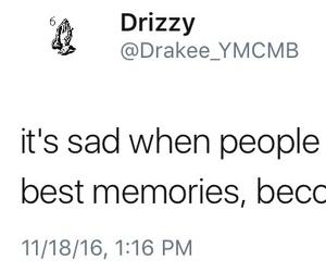 2016, Drake, and memories image