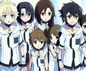 owari no seraph, anime, and family image