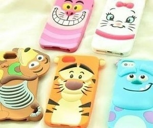 case, disney, and tiger image