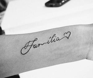tattoo, family, and familia image