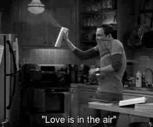 big bang theory and hate love image