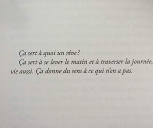french, quote, and reve image
