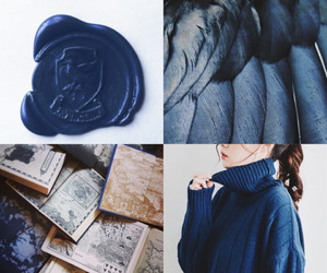 blue, harry potter, and inspiration image
