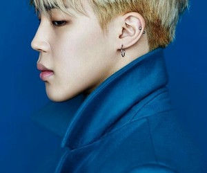army, blue, and jin image